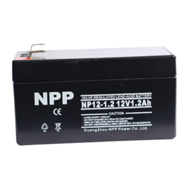 NPP Power AGM Blybatteri 12v 1,2Ah