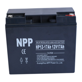 NPP Power AGM Blybatteri 12v 17Ah