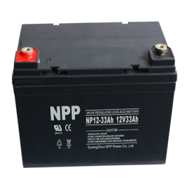 NPP Power Batteri til Golfvogn & havetraktor 12v 33Ah