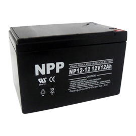 NPP Power AGM Blybatteri 12v 12Ah