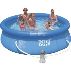 Intex Oppustelig Familie Pool 5621 Liter med 2 pumper