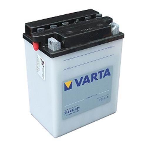 Omtalade Varta 514 400 003 MC batteri 12 volt 14Ah (+pol til højre) XC-52