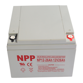 NPP Power Batteri til Golfvogn 12v 26Ah