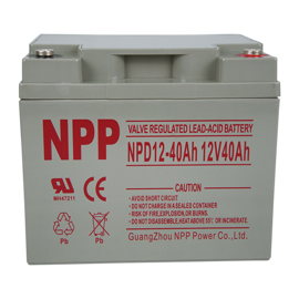 NPP Power Elscooter batteri 12v 40Ah