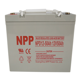 NPP Power Elscooter batteri 12v 50Ah