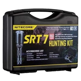 Nitecore SRT7 GT Hunting kit 1000Lumen