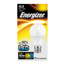 E27 LED standardpære 9,2w 806lumen (60w)