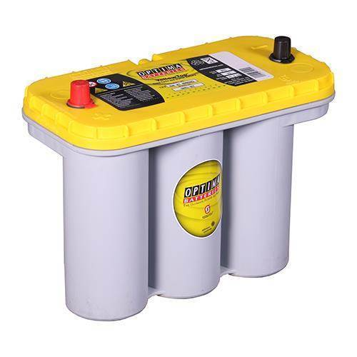 optima yellow top 75ah bilbatteri 851 187. Black Bedroom Furniture Sets. Home Design Ideas
