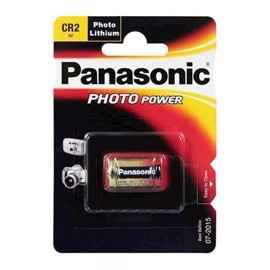 Panasonic CR2 3V lithium batteri til foto / alarm