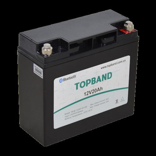Underbar Lithium batteri 12volt 20Ah med app overvågning MM-32
