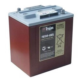 Trojan TE35GEL Deep cycle blybatteri 6V 210Ah