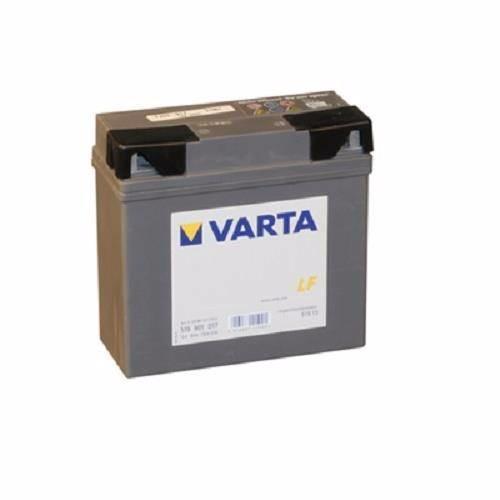 Nykomna Varta 519 901 017 MC batteri 12 volt 19Ah (+pol til højre) QR-55