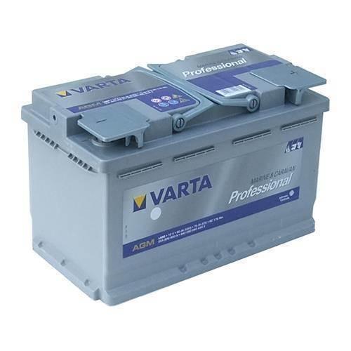 Varta LA80 Bilbatteri 12V 80Ah 840080080