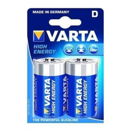 Varta LR20 High Energy Alkaline batterier