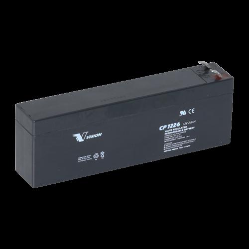 Icke gamla 12 volt batteri 2,6Ah alarm fri levering af batterier SL-06