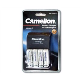 Camelion batterioplader med 4 stk 2300mAh Ready to use batterier