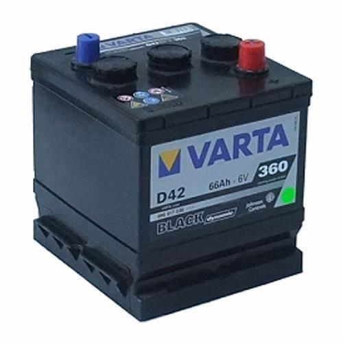 Varta D42 Bilbatteri 6 volt 66Ah 066017036